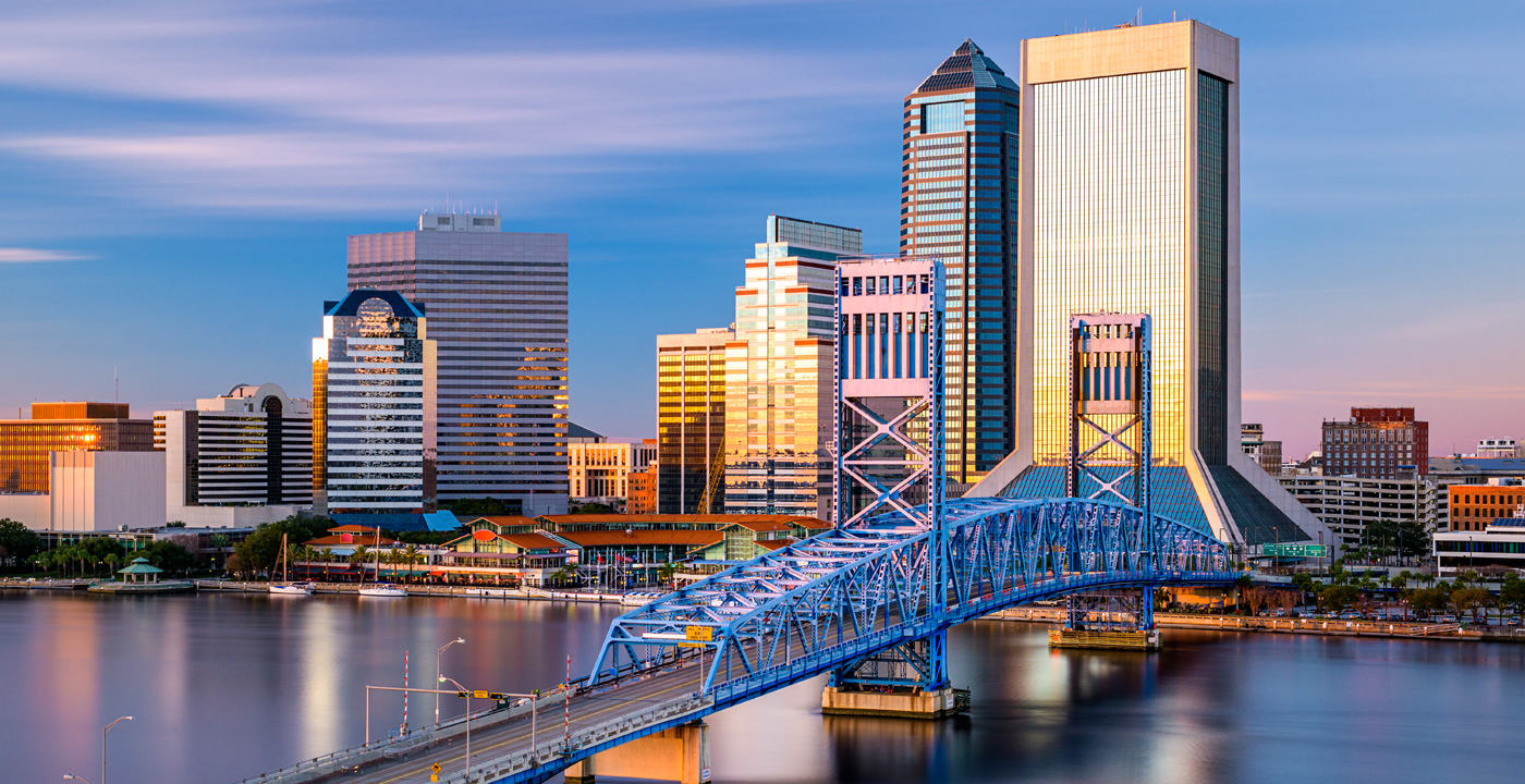 Convenient locations in and around Jacksonville, Florida